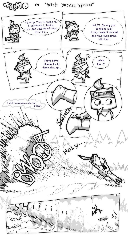 Sudden Teemo Adventures - 1 by IvikN