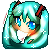Miku Icon by mochiiruu