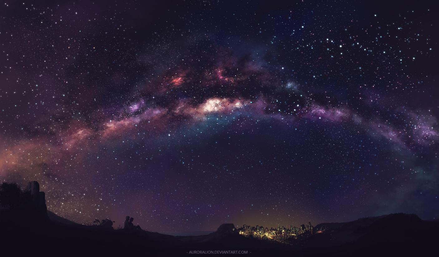 Under the Stars by AuroraLion