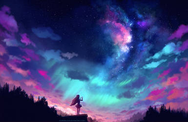 Catch the Stars by AuroraLion