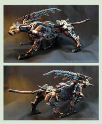 Steampunk Gravity Saix II by AuroraLion