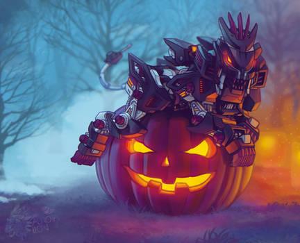 Liger Zero Midnight Shield Halloween