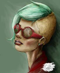 dream lady by Electronalone