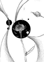 Floraison noire by Electronalone