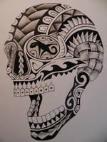 cane sugar skull by bishop808