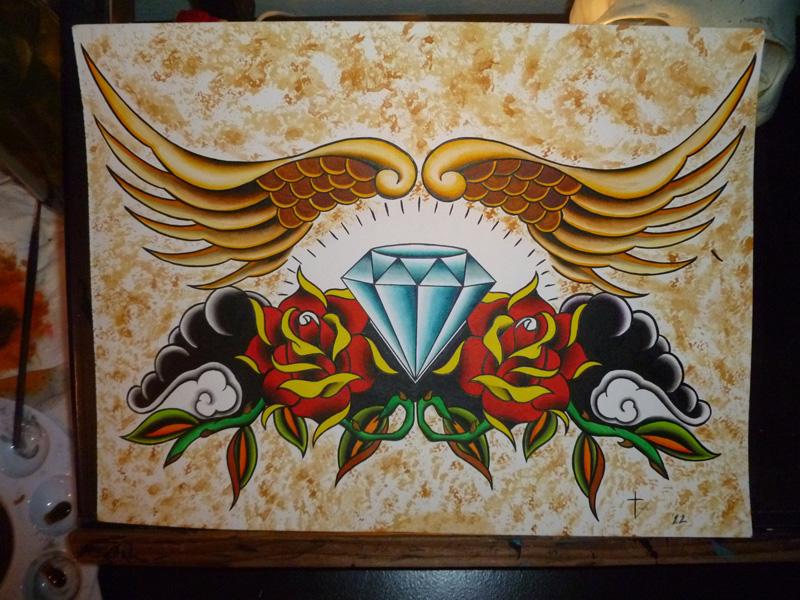 sacred diamond by bishop808