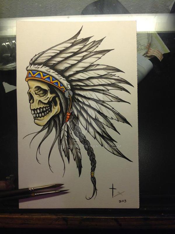 Indianskull by bishop808