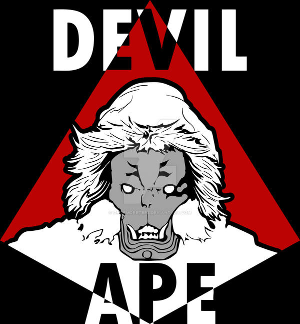 Devil Ape By Oncemoreteez On Deviantart