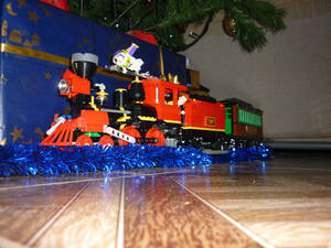 Lego Toy Story 3 Christmas Train 1