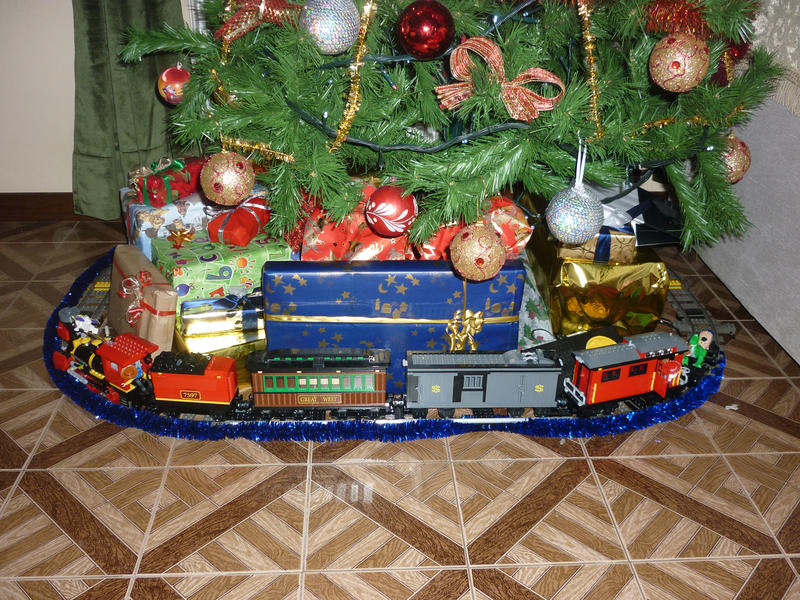Christmas Toys Trains : Lego toy story christmas train by commanderp on