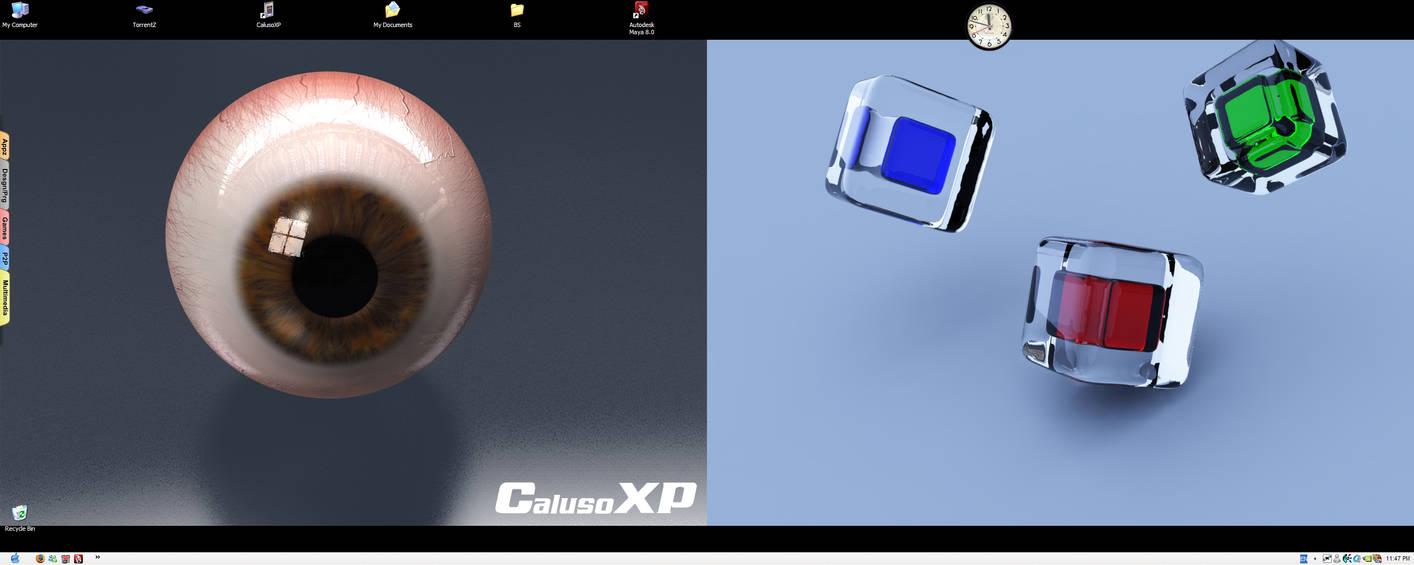 My Current Desktop DUALZ