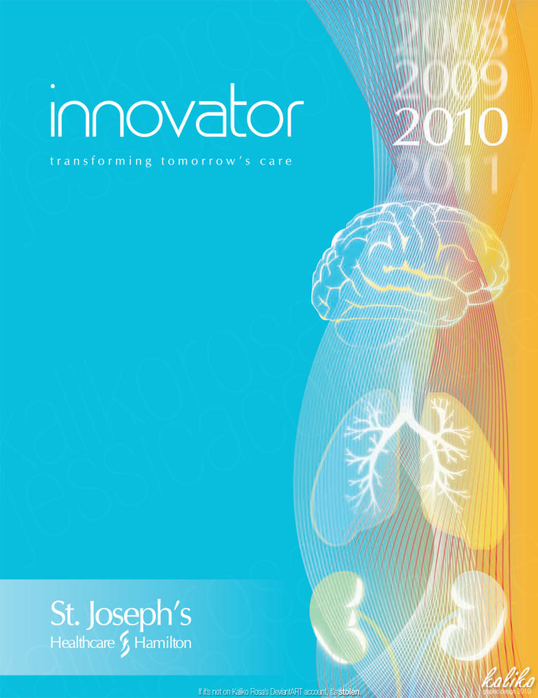 Innovator Annual Report Cover By Kaliko Rosa ...  Annual Report Cover Template