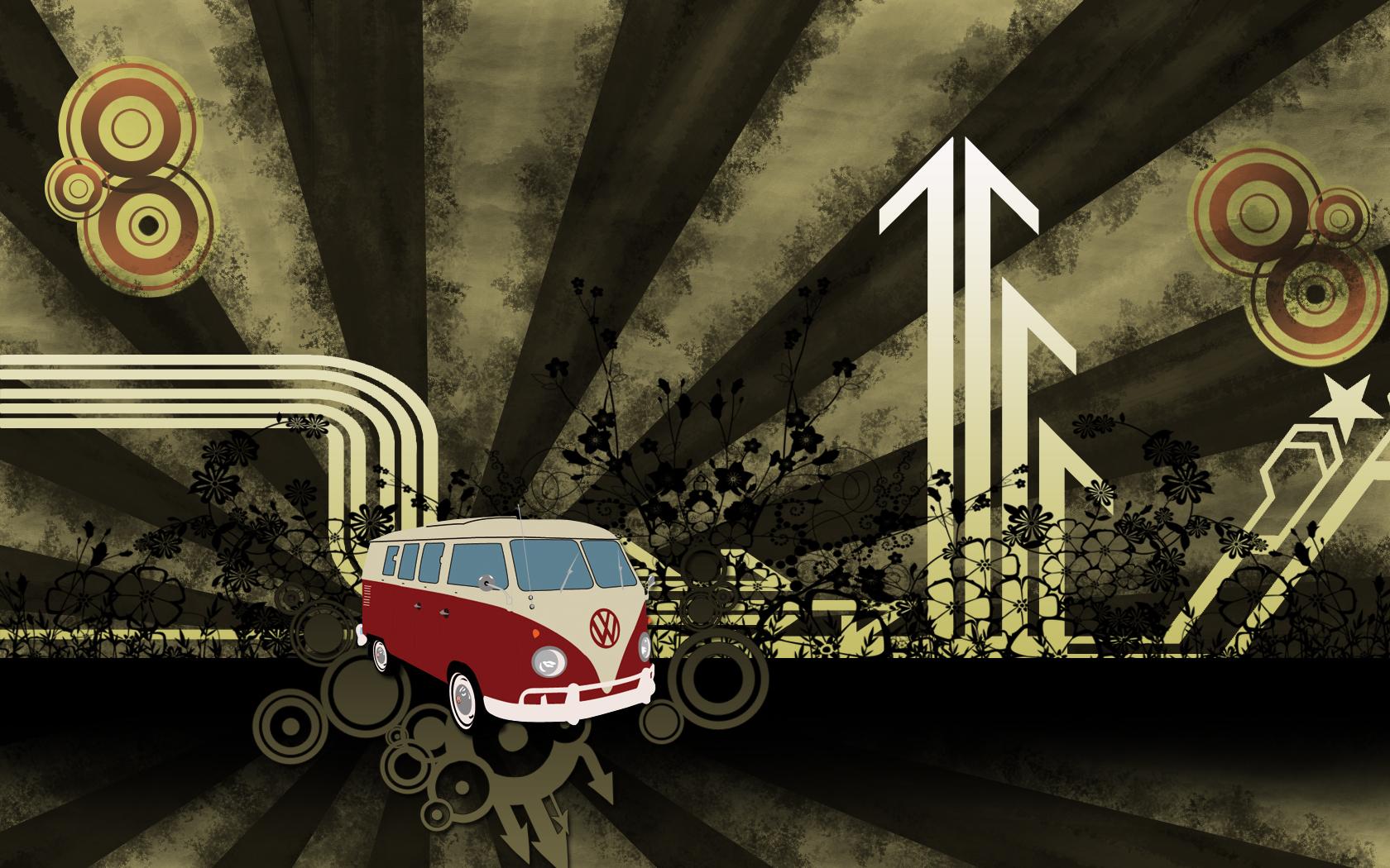 Retro volkswagen vector by MiCiA-DeSign