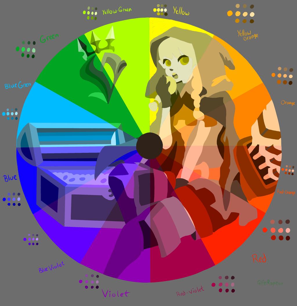 Color art digital -  Dragon S Crown Elf Color Wheel Digital By Giftraptor
