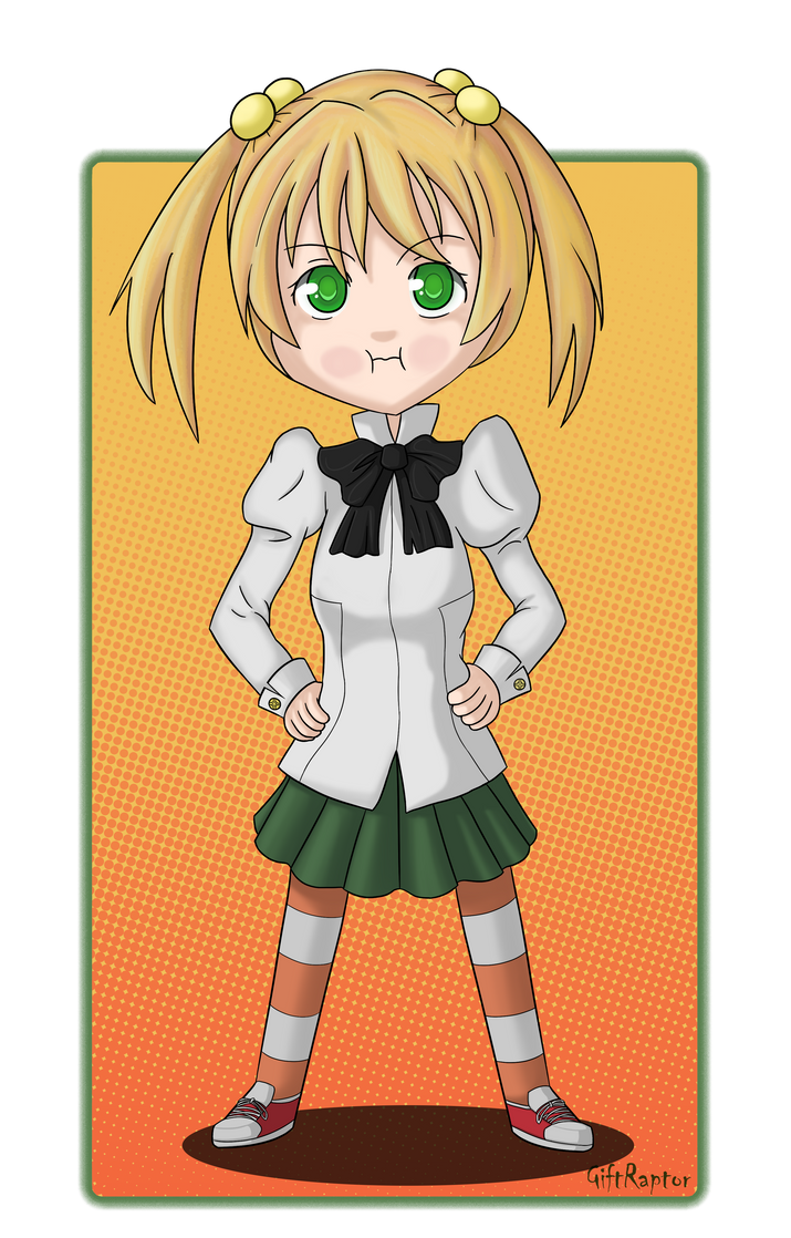 Emi ~ Pout by GiftRaptor