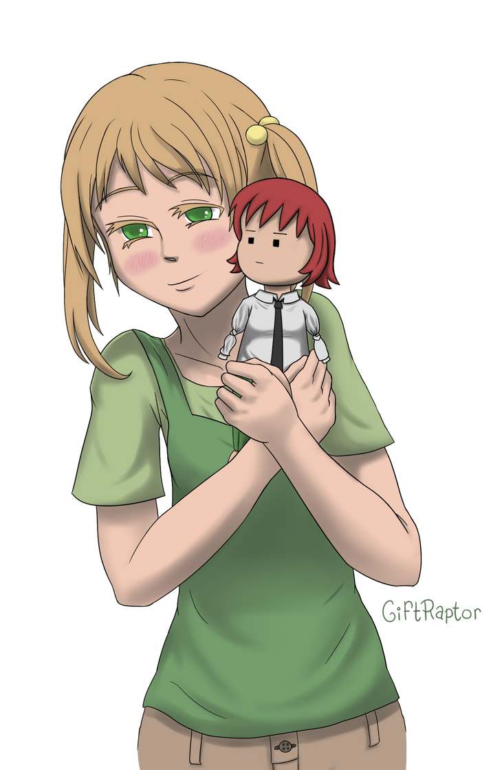 Emi with Rin by GiftRaptor