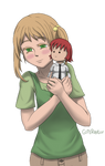 Emi with Rin