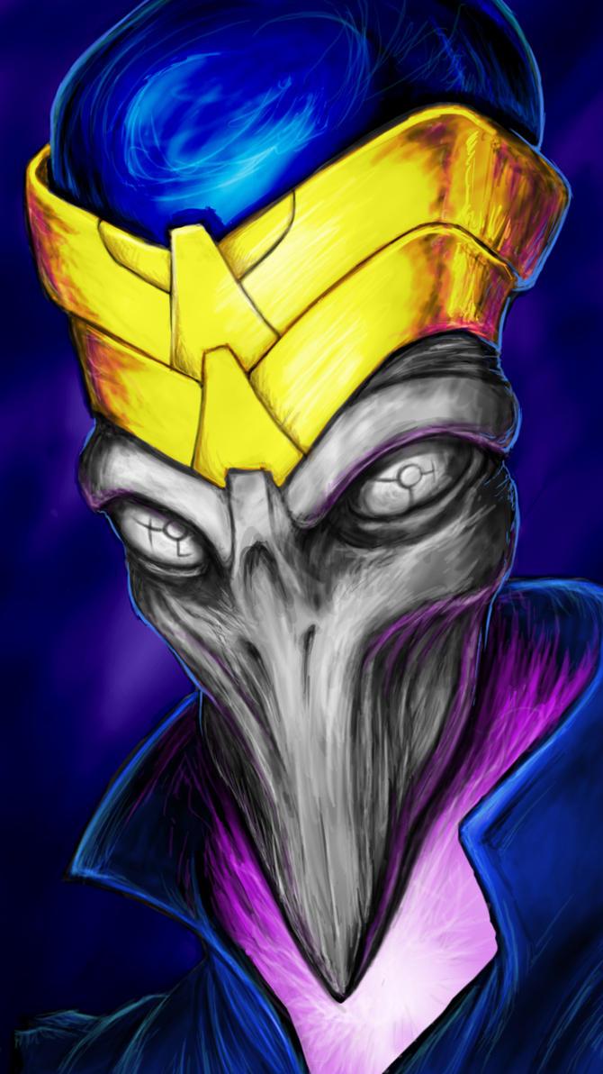 Alien King by Elitekruemel