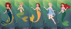 Disney-Ladies Inspired Mermaids