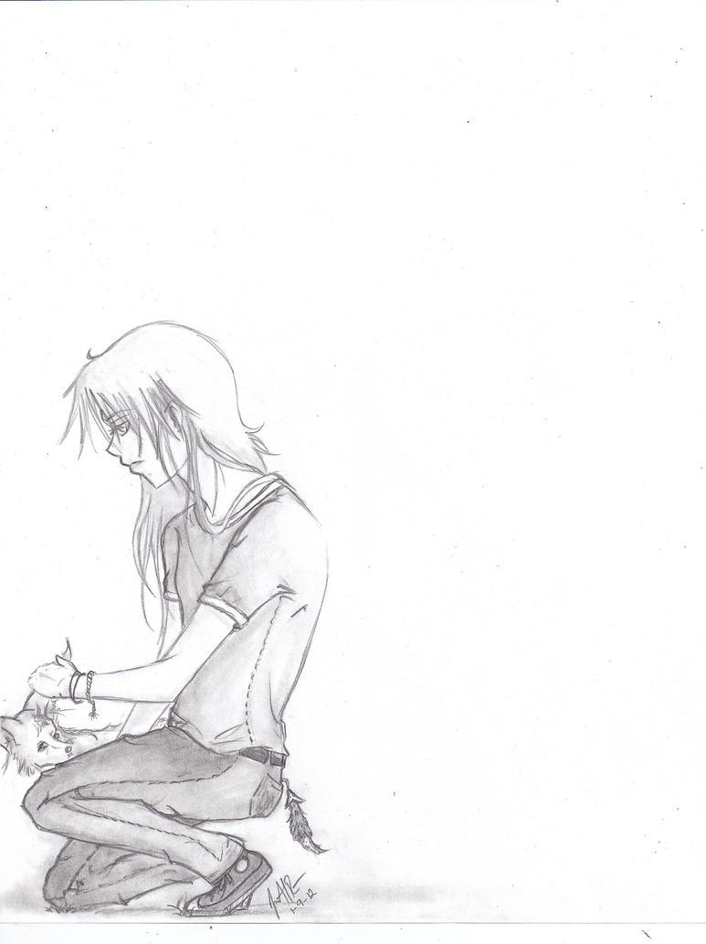 Kurama::Original by The-Insomiac-Artist