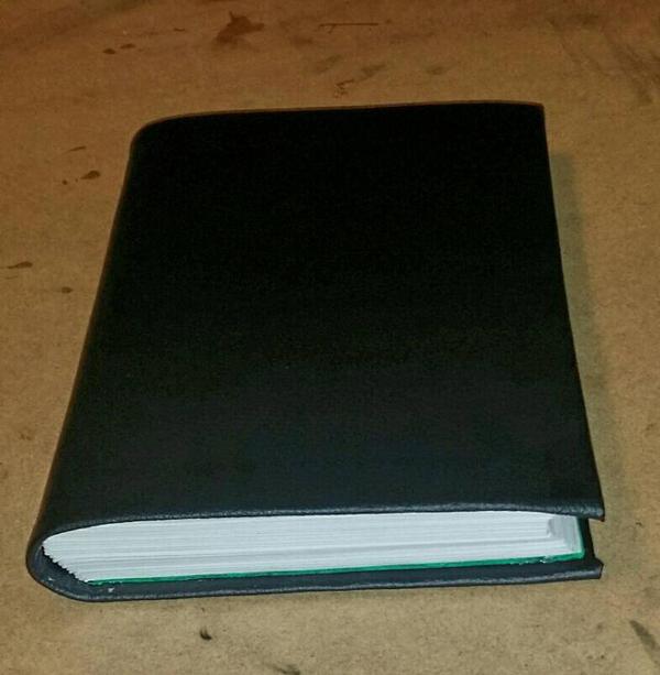 Vinyl bound journal. by The-Insomiac-Artist