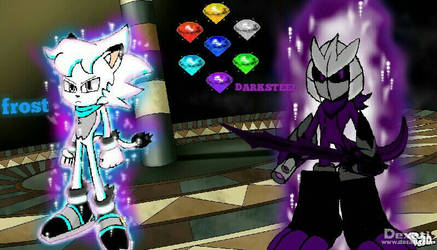 me and frost  ultra instinct Bros  by XxDarksteel2002Xx