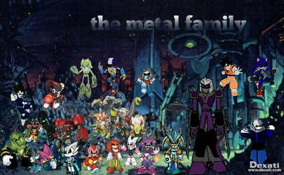 the metal family redesign poster by XxDarksteel2002Xx