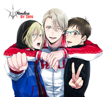 Yuri On Ice Render