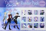 YURI!!! On Ice Render Pack #4