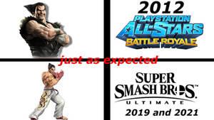 Kazuya mishima super smash bros ultimate Meme