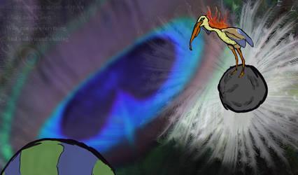 Universe Bird by Land-Man-Sam