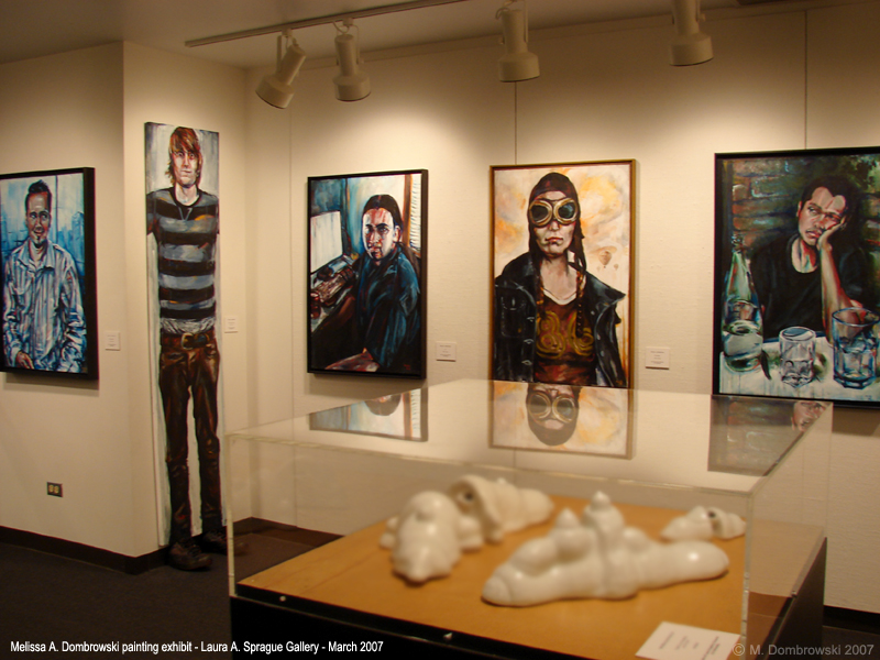 Sprague Gallery Exhibit by M-A-D-art