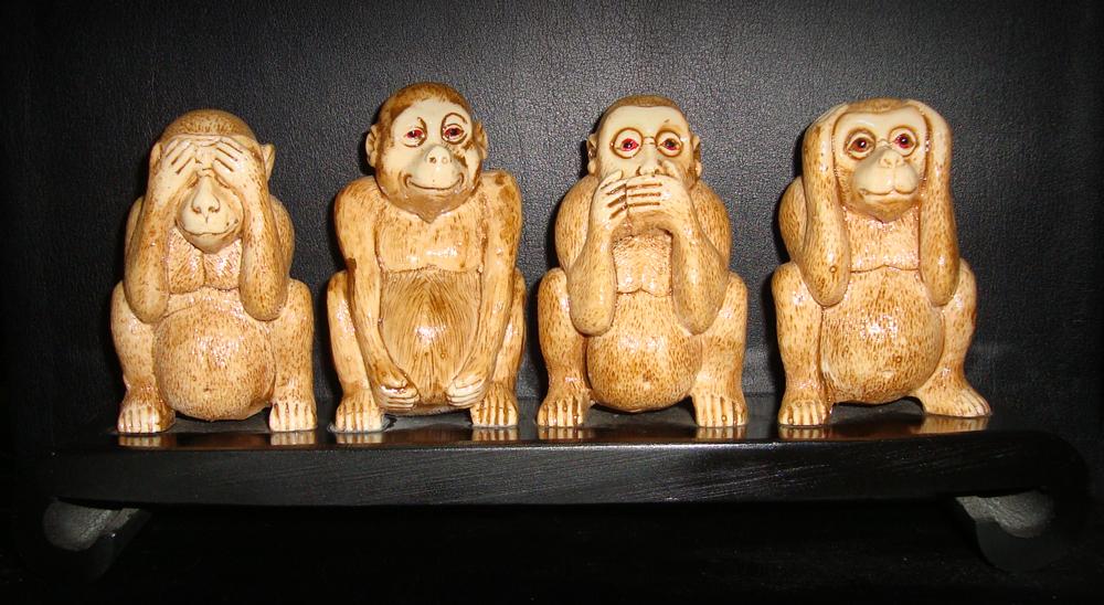 e0a1e7b86 four wise monkeys by capmunir on DeviantArt