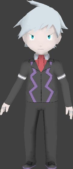 Pokemon OR/AS: Steven Stone (original design) by RebelliousTreecko