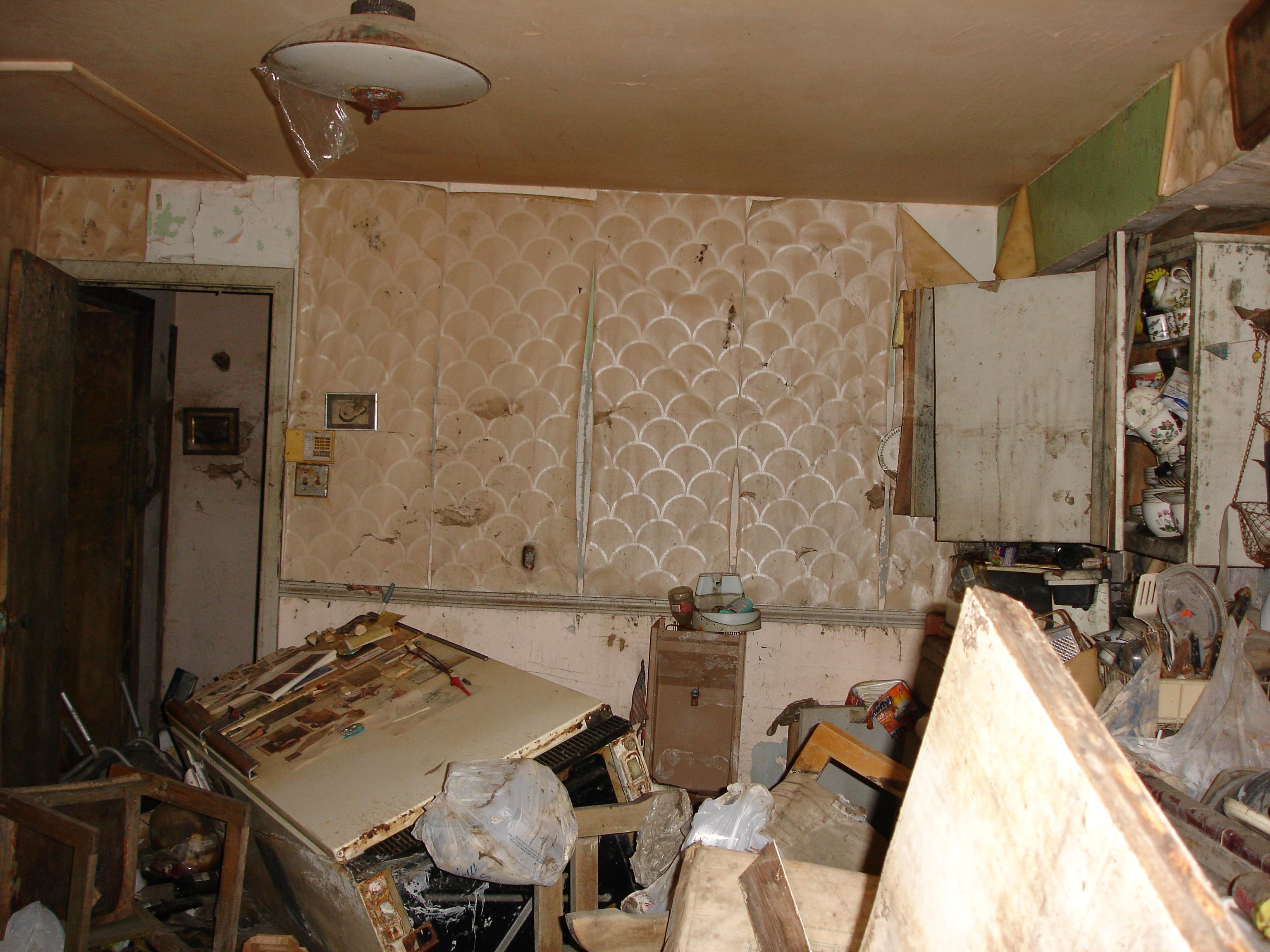 My Flooded Kitchen by wolfepaw