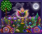 Moonlit Apo Garden