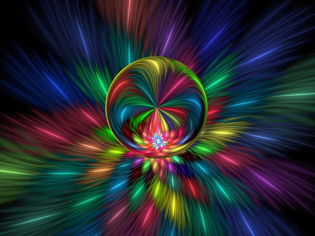 Rainbow Loonie Lights by wolfepaw