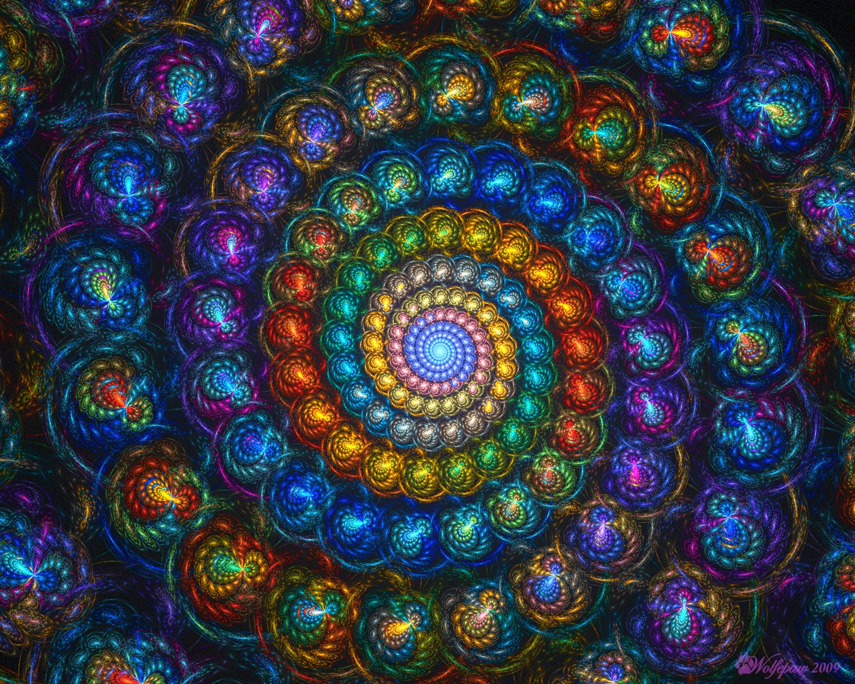 Spiral Shell Beads by wolfepaw