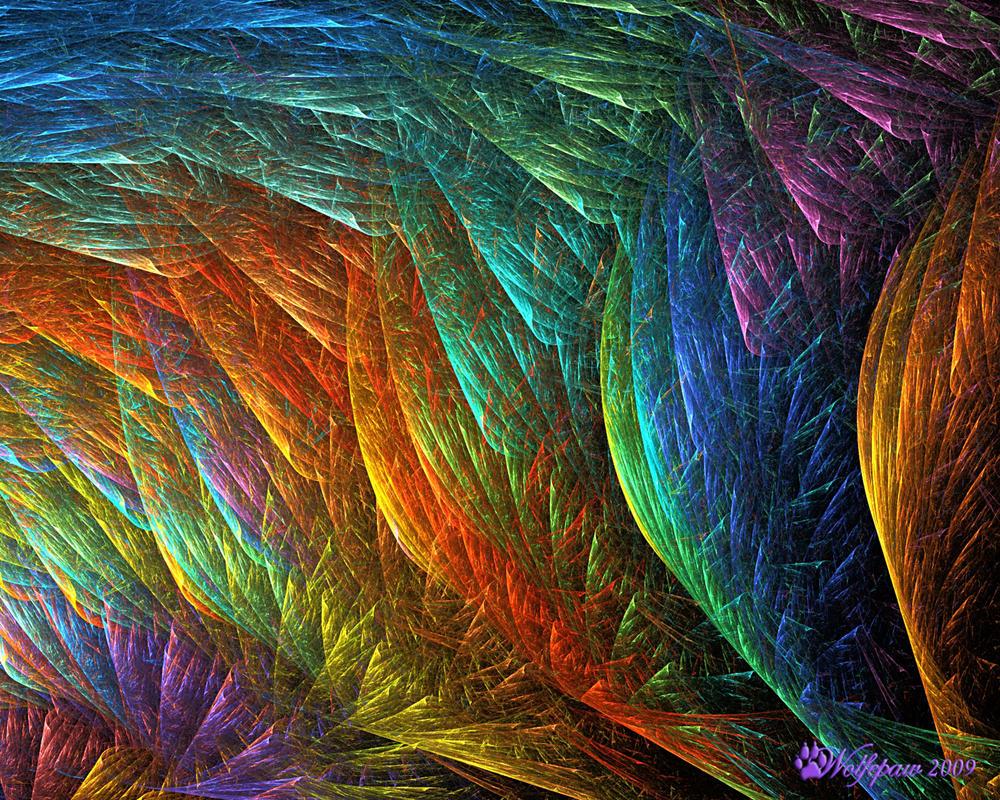 Fiberglass Rainbow by wolfepaw