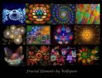 Fractal Elements Calendar