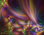 Pastel Horseshoe Swirls