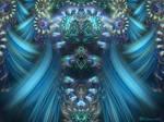 Juliascope Swirls in Blue