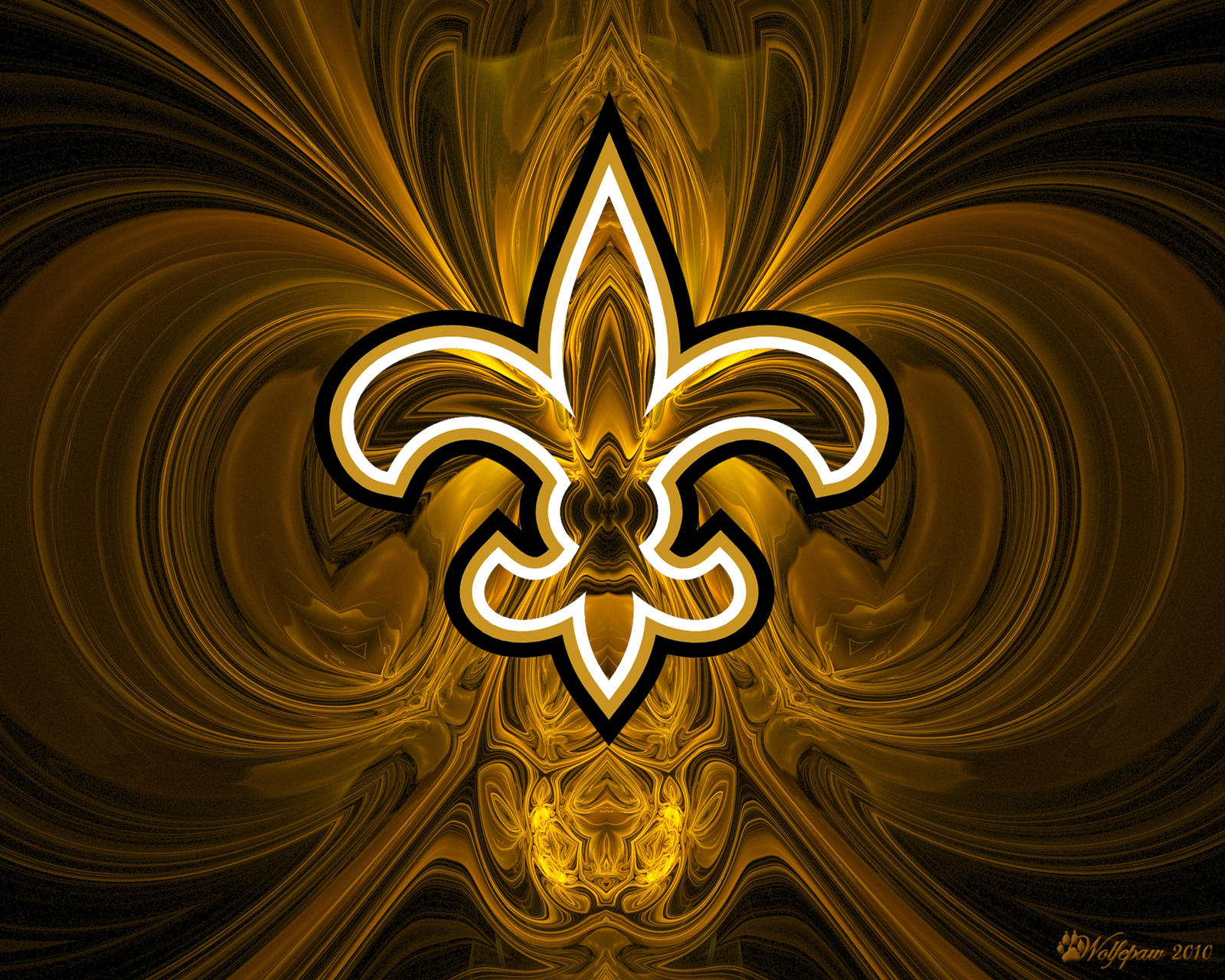 ... digital art fractal art only one more game to win and the saints