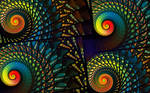 Stained Glass Spirals