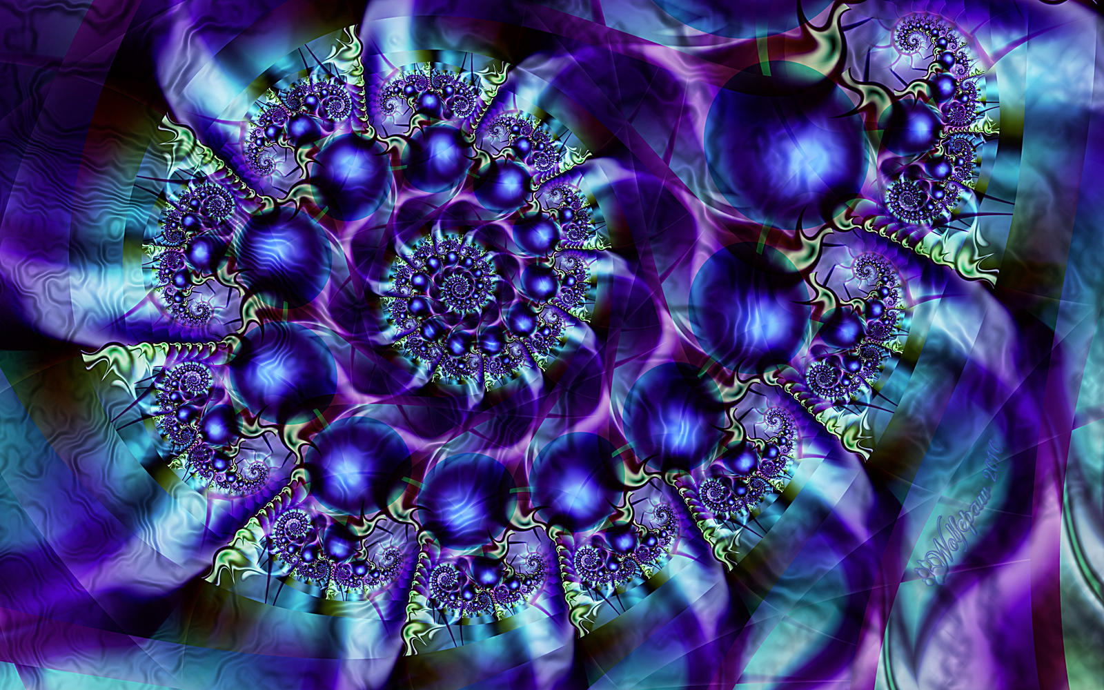 Indigo pearls spiral by wolfepaw on deviantart for The indigo