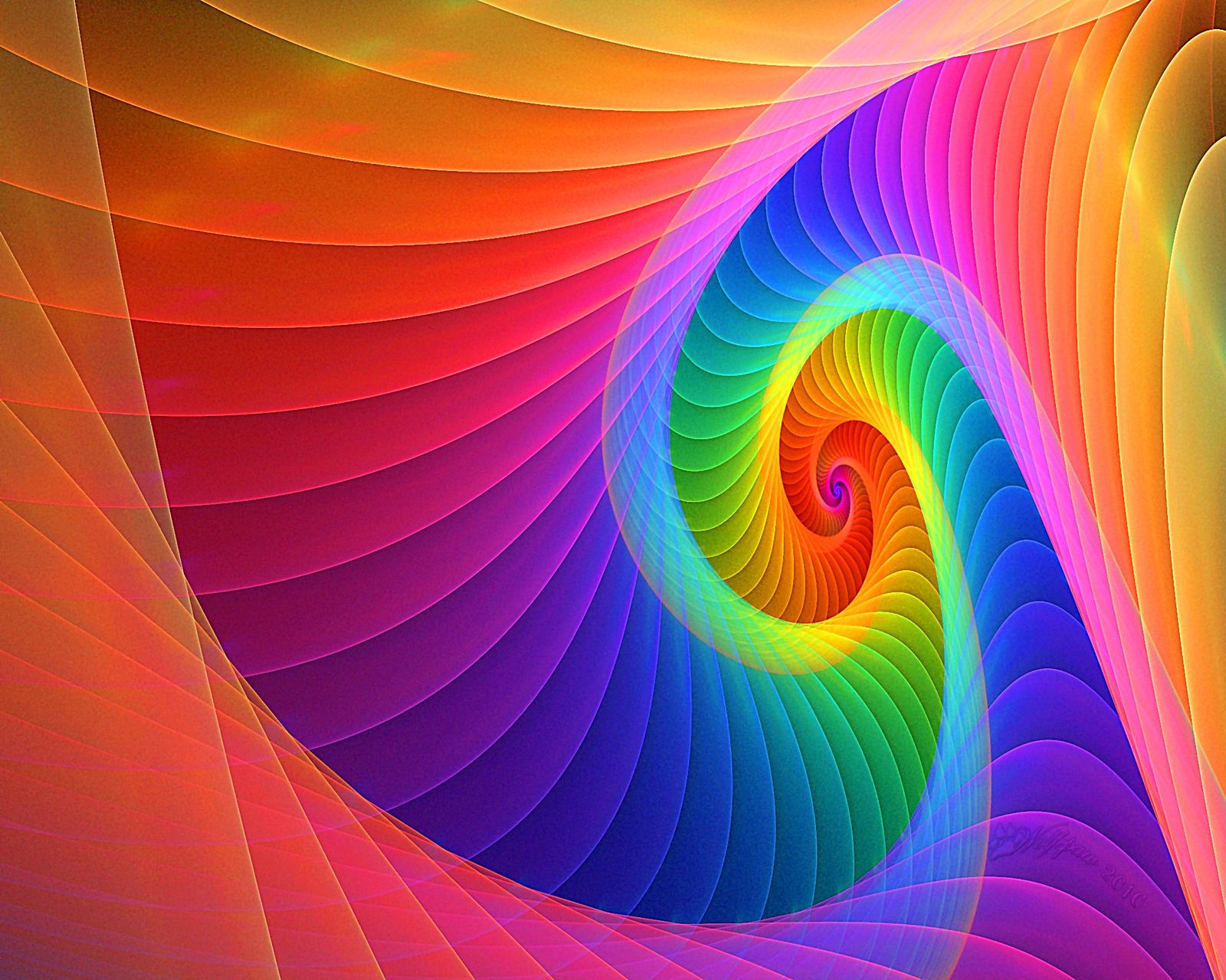 spiral rainbow - photo #16