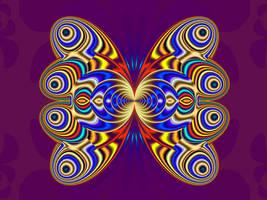FE W7 Newton Butterfly by wolfepaw