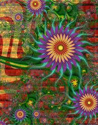 Sunny Flowers by wolfepaw