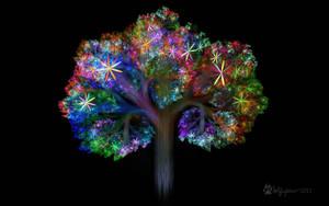 Flowering Apo Tree by wolfepaw