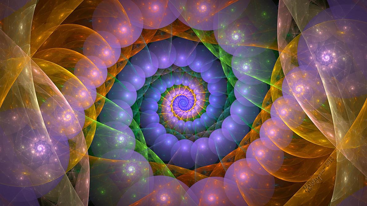 Spiral Blob by wolfepaw